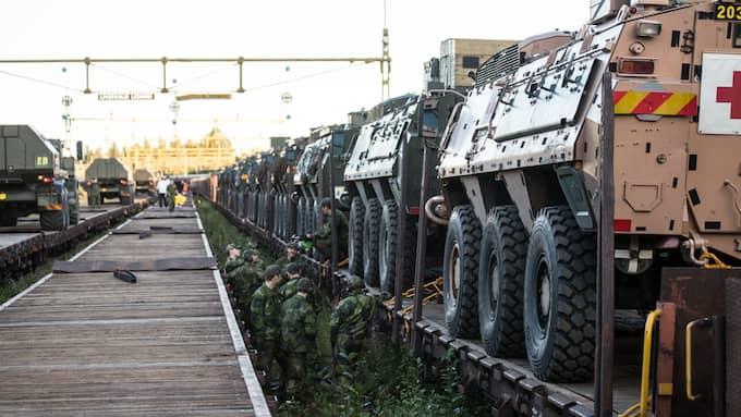 19 000 svenska militärer deltar och 2011 utländska. Foto: / FÖRSVARSMAKTEN