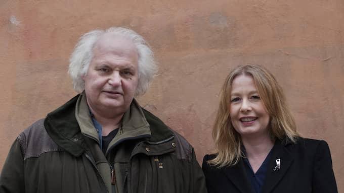 Greider och Linderborg. Foto: Maxim Thoré