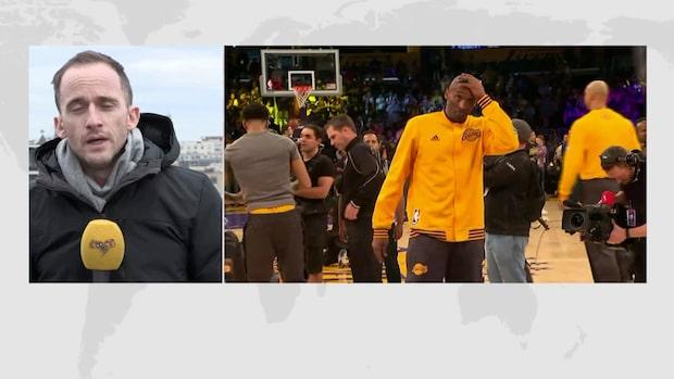 Så reagerar USA på Kobe Bryants död