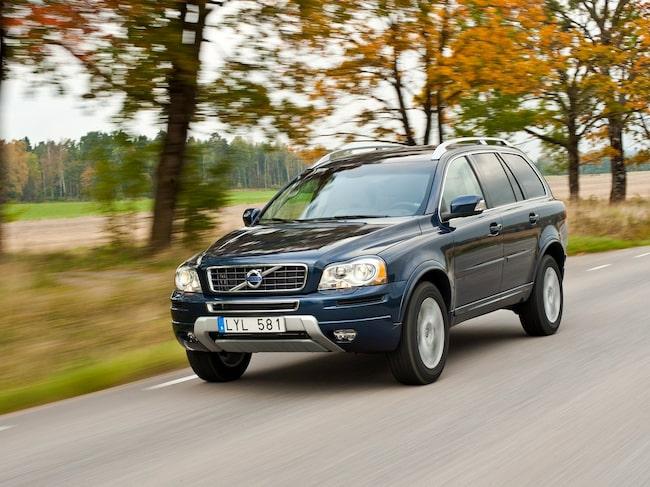 Volvo XC90 placerar sig återigen bra.