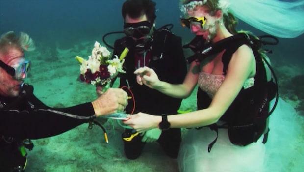 Bröllop på djupt vatten