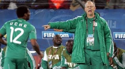 Lars lagerback slutar i nigeria