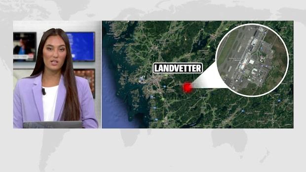 Misstänkt väska på Landvetter