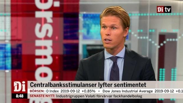 """Förvaltaren Carl Armfelt: """"Roterar mot lågt värderade aktier"""""""