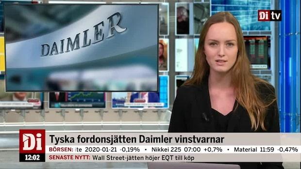 Di Nyheter: Nilörn och Daimler faller efter vinstvarningar