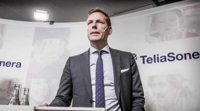 Den aktie som flest svenskar har är Telia Sonera, med drygt en halv miljon ägare. Foto: Magnus Hjalmarson Neideman/Svd/Tt