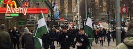 JUST NU: Nazister och motdemonstranter i bråk