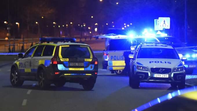 Mannen hittades död på en parkering. Foto: Andreas Holm