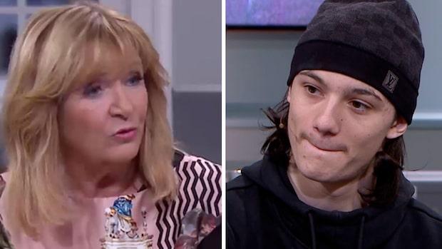 Skarp kritik mot Malou efter tio efter intervju med rapparen Greekazo