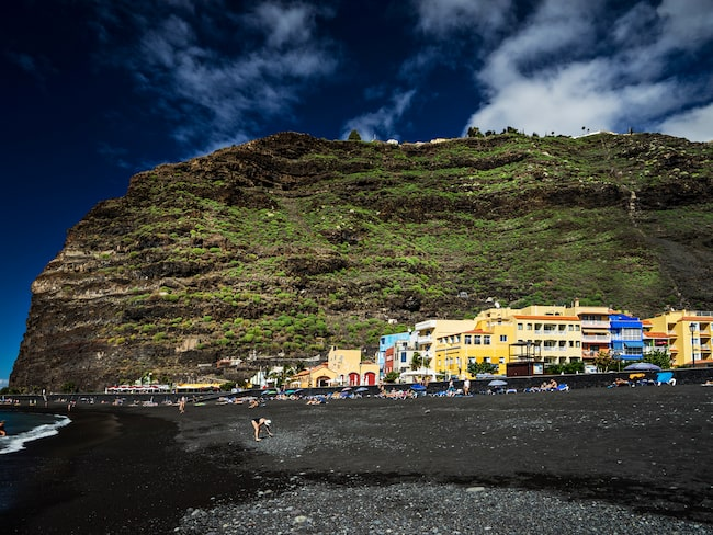 Kanarieön La Palma  har drygt 86 000 invånare.