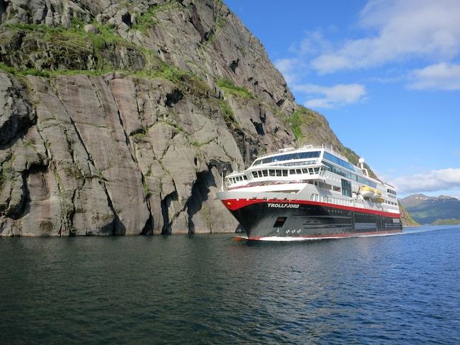MS Trollfjord kommer att uppgraderas och byta namn till MS Maud.