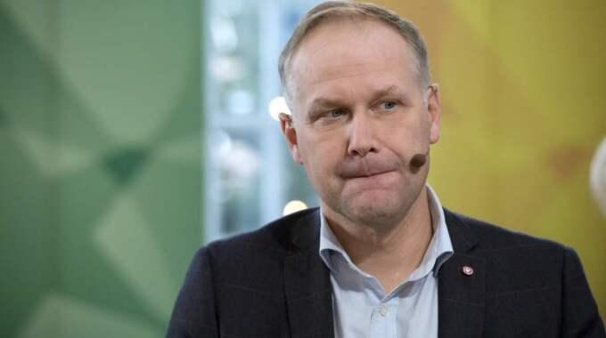 Jonas Sjöstedt. Foto: Sven Lindwall