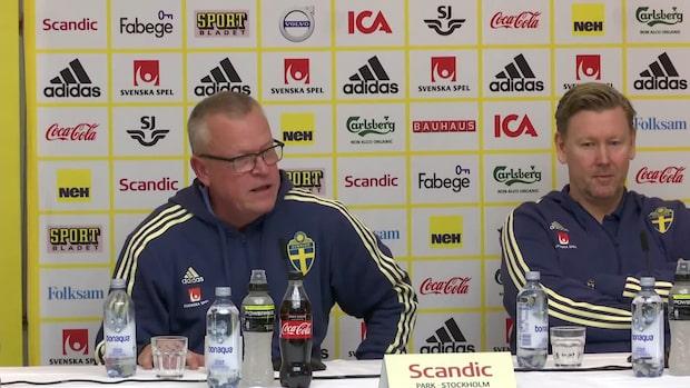 "Janne Andersson: ""Inte ens folk som jobbar med det begriper det"""