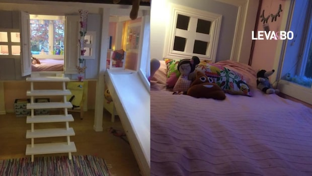 5-åriga dottern ville ha ett eget hus - föräldrarna gjorde något unikt