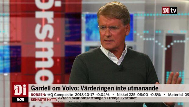 """Christer Gardell om börsläget: """"Geopolitiken oroar marknaden"""""""