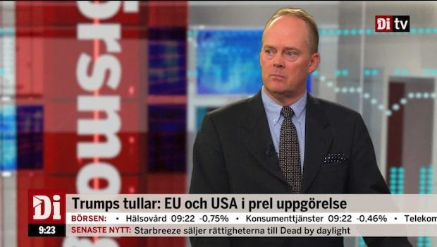 USA och EU i preliminär uppgörelse om tullarna