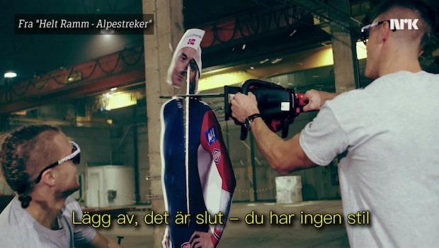 Här sågar Calle Halfvarsson itu Petter Northug