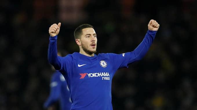 Eden Hazard ska ha tröttnat på tillvaron i Chelsea. Foto: DAVID KLEIN / REUTERS BILDBYRÅN