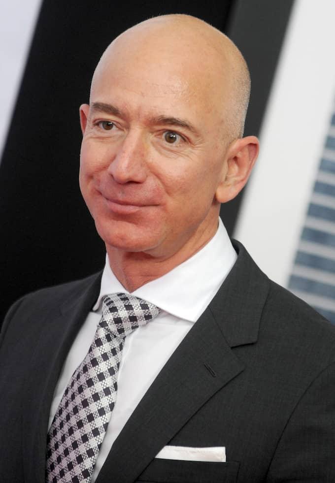 Jeff Bezos – världens rikaste någonsin. Foto: VAN TINE DENNIS/ABACA / VAN TINE DENNIS/ABACA STELLA PICTURES