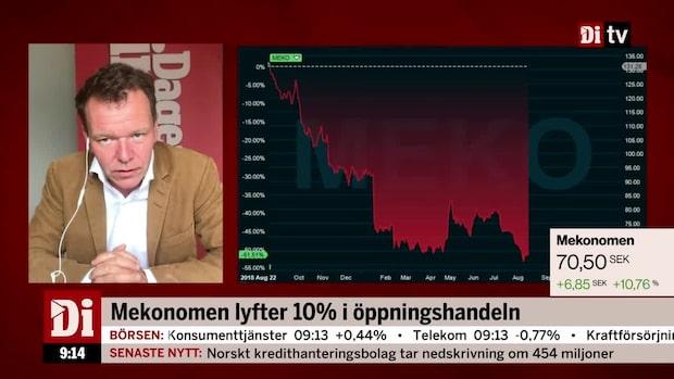 """Broman och Petersson om Mekonomen: """"Köpvärt på 70 spänn"""""""