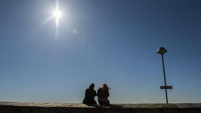 Solen kommer att stråla över hela landet i helgen. Foto: NORA LOREK