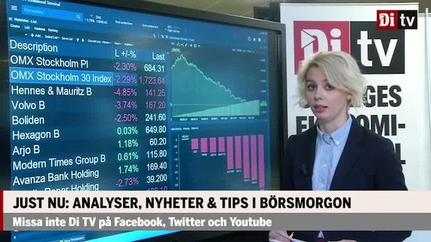 Marknaden: Stockholmsbörsen fortsätter falla – Arjo klarar sig bäst