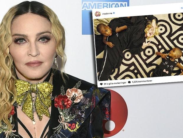 Madonnas nya bild efter hårda kritiken