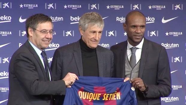 Tre snabba om nya tränaren i Barcelona
