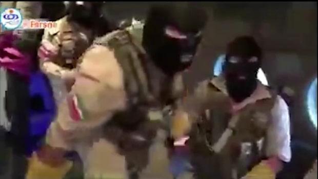 Se propagandavideon där soldaterna bordar fartyget