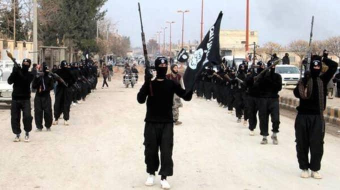 Männen ska ha koppling till IS. Bilden är från ett annat tillfälle. Foto: AP