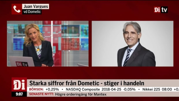 Stark rapport från Dometic – aktien stiger
