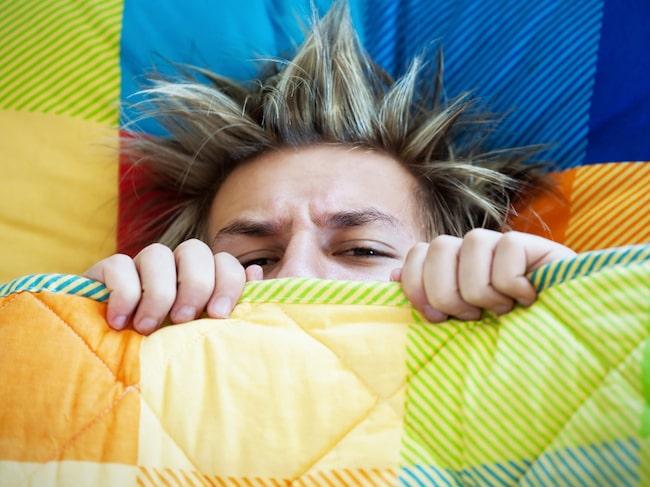 trött när jag vaknar