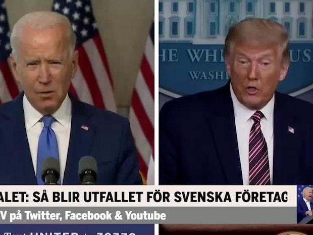 USA-valet: Så blir utfallet för svenska bolag