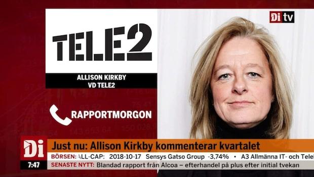 Stark rapport från Tele2