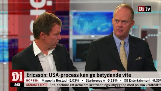"""Wendt om Ericsson: """"Bättre än väntat"""""""