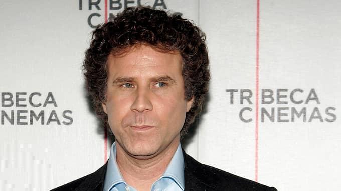 """Ferrell hade besökt ett event som """"Anchorman""""-karaktären Ron Burgundy. Foto: STEPHEN CHERNIN / AP"""