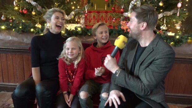 Tror familjen Storm från julkalendern på tomten?