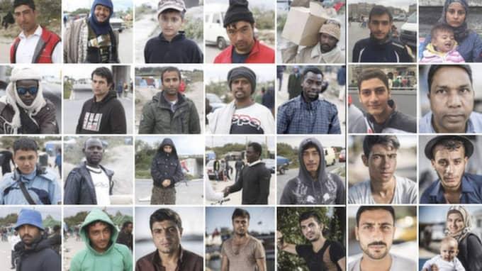 Bland människorna som flyr till Europa hittar man en blandad skara – unga och gamla, fattiga och rika.