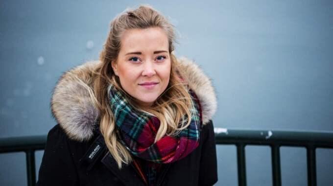 """Sofie i dag. """"Det jobbigaste är att Malin inte kommer vara en del av alla händelser i mitt liv"""", säger Sofie Cammerö. Foto: Christian Örnberg"""