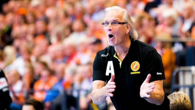 Kristianstad HK:s tränare Ulf Schefvert. Foto: AVDO BILKANOVIC / BILDBYRÅN