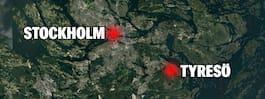 JUST NU: Kvinna och  barn döda i bil vid sjön