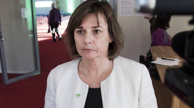 """Isabella Lövin (MP) gjorde samma utspel i Expressens """"Bara Politik"""". Foto: Olle Sporrong"""